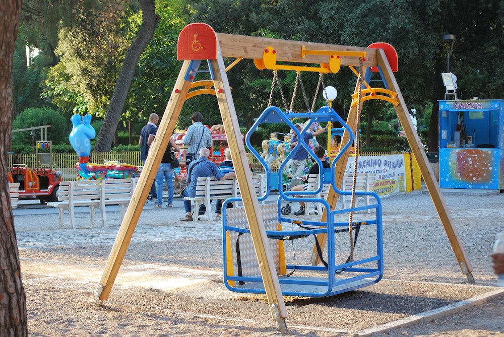 Altalena per Disabili - Villa Peripato - Peekaboo Travel Baby