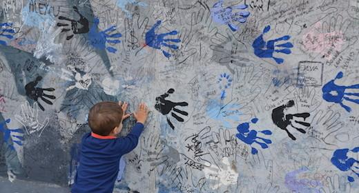 Berlino con mio figlio tra ricordi, opere d'arte e parchi giochi