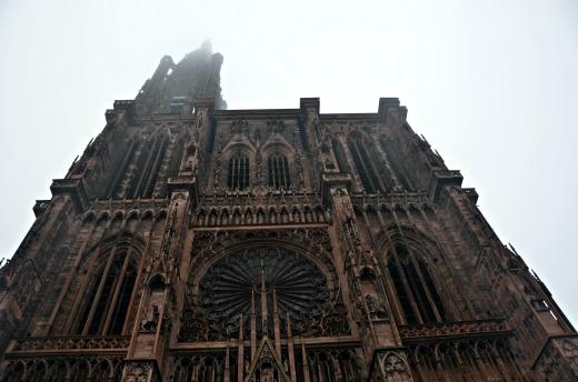 itinerario alsazia con bambini - Strasburgo cattedrale 3