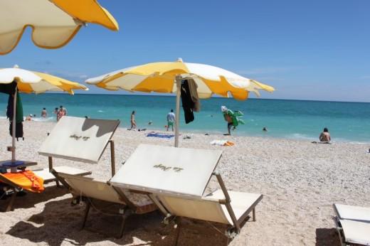 Spiaggia - Centro de Angelis - Conero