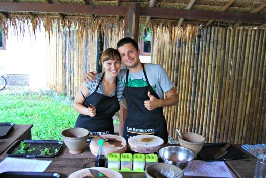 Cibo in laos - corso di cucina 4
