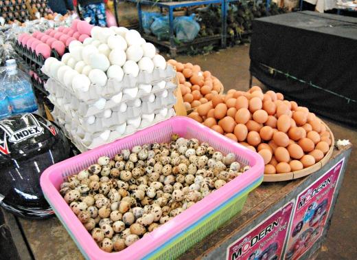 Cibo in laos - mercato