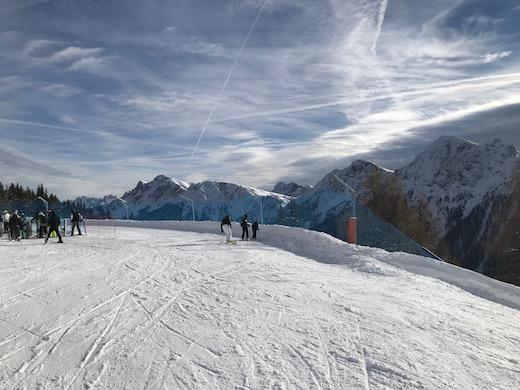 Vacanza sulla neve con bambini
