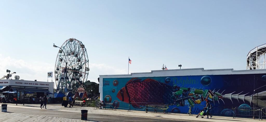 New york con bambini piccoli - Coney island