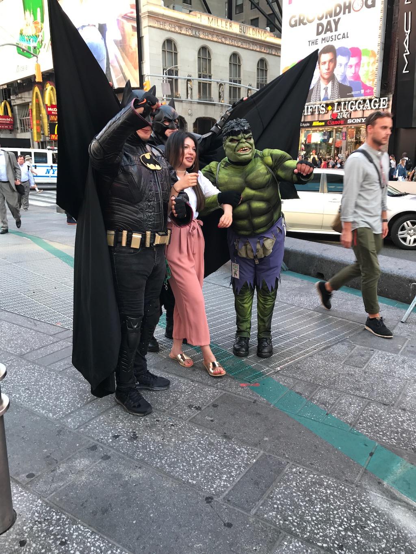 New york con bambini piccoli - Times square
