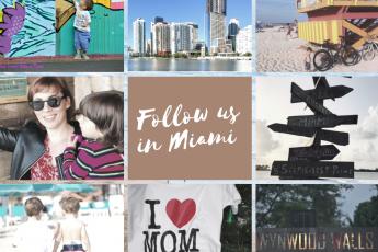 Seguiteci a Miami con bambini