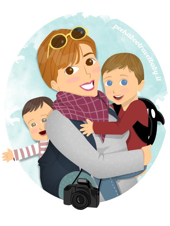 Logo Peekaboo Travel Baby logo 2017