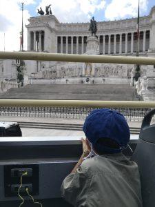 Visitare Roma con bambini insieme a Tapsy